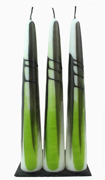Båkljus L Grön/Svart