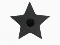 Ljusstake Gjutjärn stjärna
