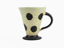Keramikmugg Prickig