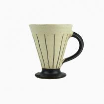 Keramikmugg Smalrandig