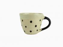 Kaffekopp Keramik Prickig