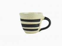 Kaffekopp Keramik Randig